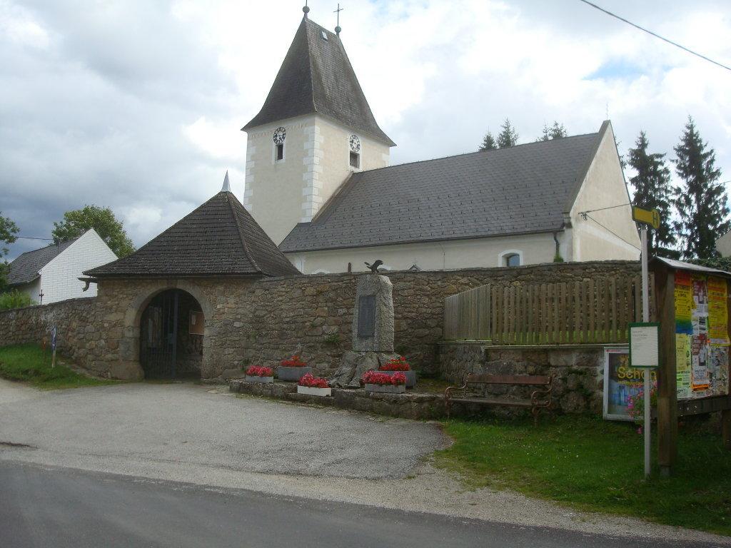 Pfarrkirche von Oberkirchen - Oberkirchen, Niederösterreich (3920-NOE)