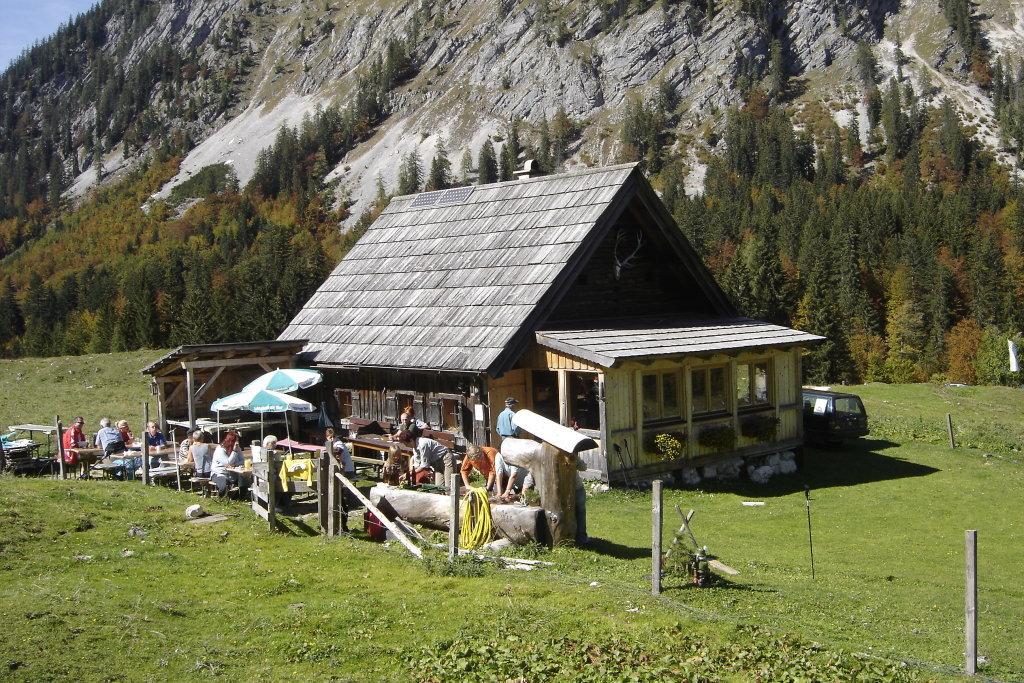 Hechlhütte auf der Gnanitzalm - Tauplitz, Steiermark (8982-STM)