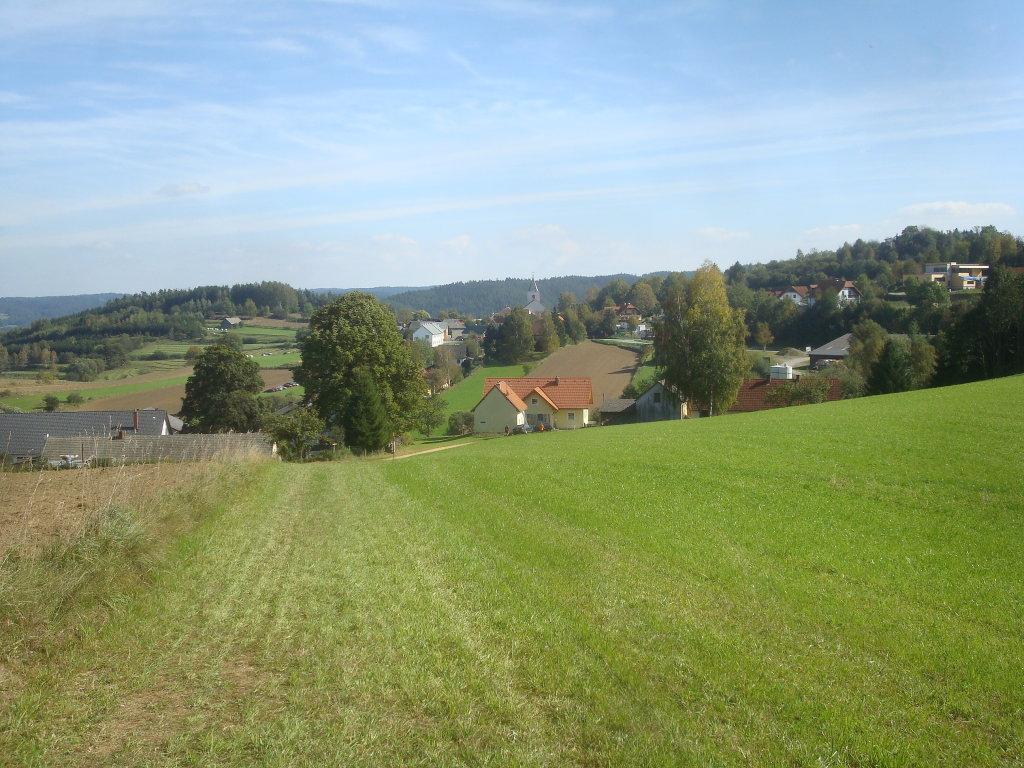 Blick nach Rappottenstein - Rappottenstein, Niederösterreich (3911-NOE)