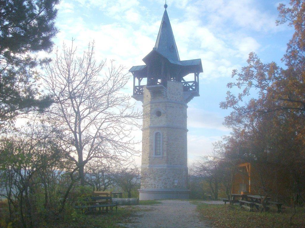 Die Kamptalwarte auf dem Heiligenstein bei Zöbing - Zöbing, Niederösterreich (3550-NOE)