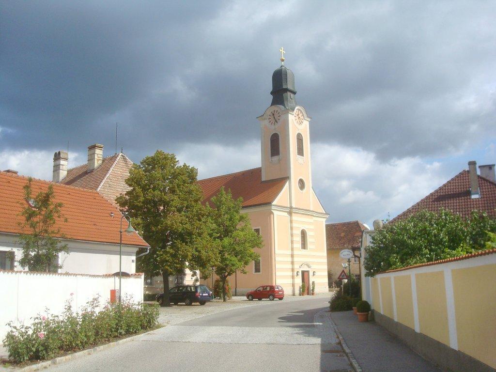 Pfarrkirche in Grafenwörth - Grafenwörth, Niederösterreich (3484-NOE)
