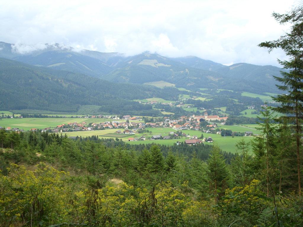 Fernblick nach Seckau - Seckau, Steiermark (8732-STM)