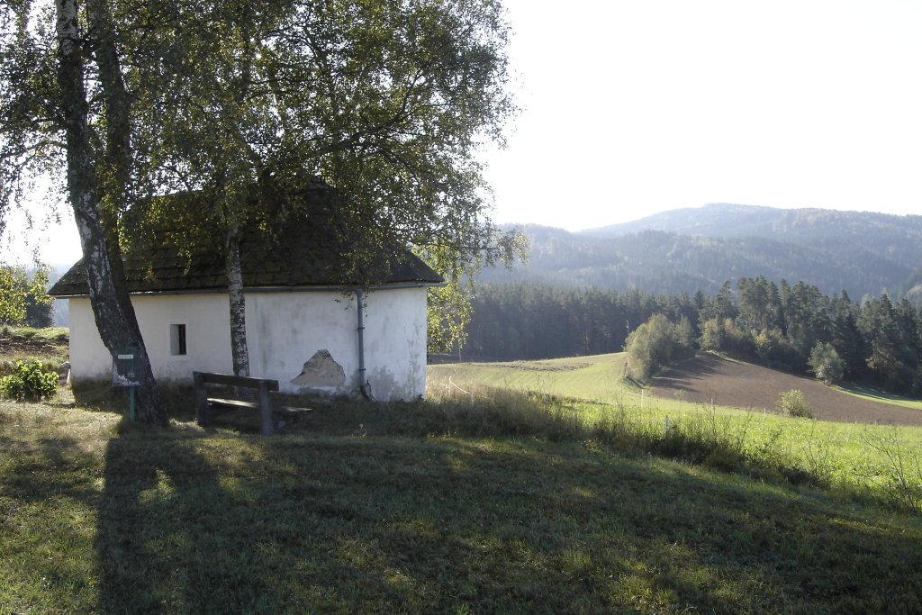 Die Annakapelle bei Rappottenstein - Rappottenstein, Niederösterreich (3911-NOE)