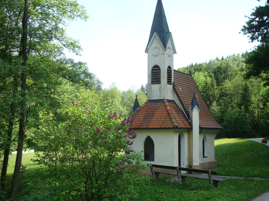 Die Öhlsitzkapelle bei Krahof - Krahof, Niederösterreich (3372-NOE)