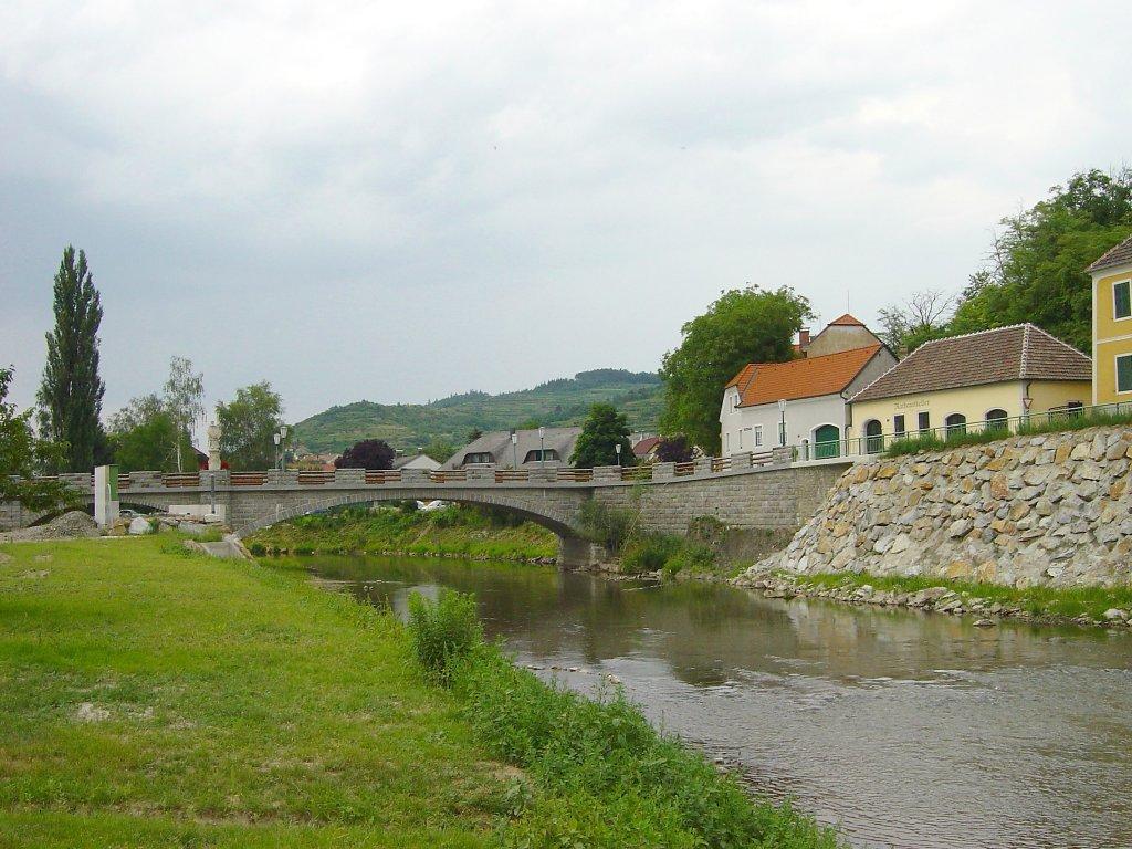 Kampbrücke in Zöbing - Zöbing, Niederösterreich (3550-NOE)
