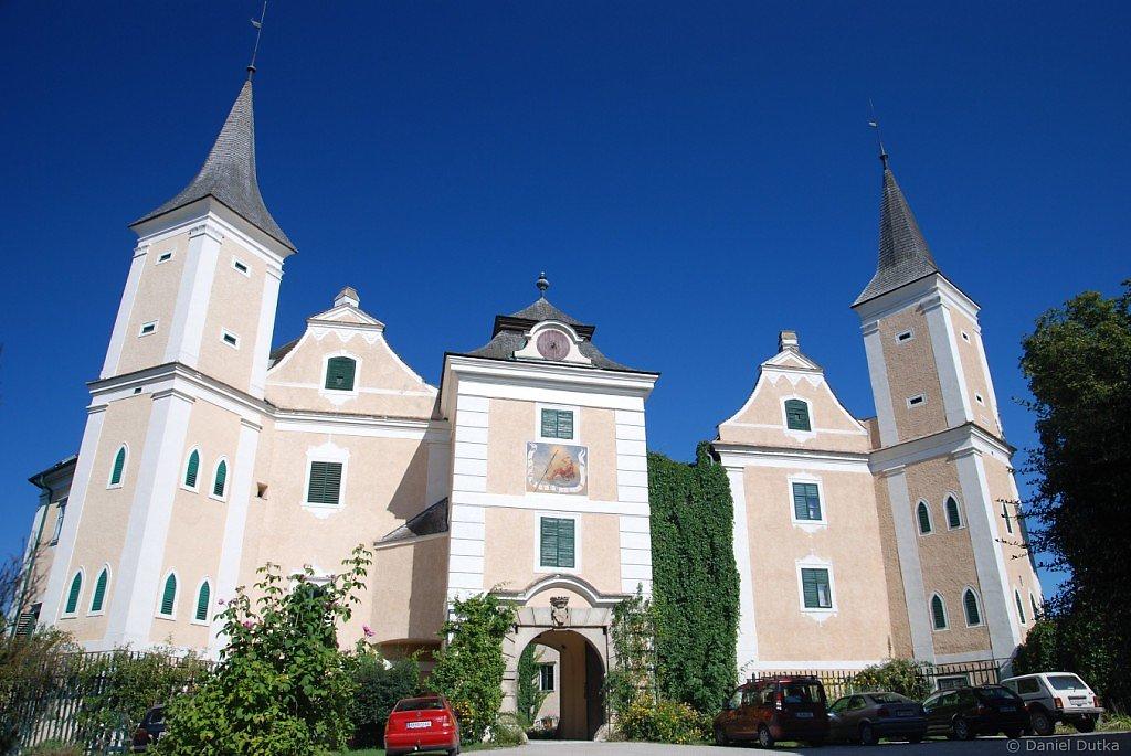 Schloss Mühlbach am Manhartsberg - Hohenwarth-Mühlbach a.M., Niederösterreich (3472-NOE)