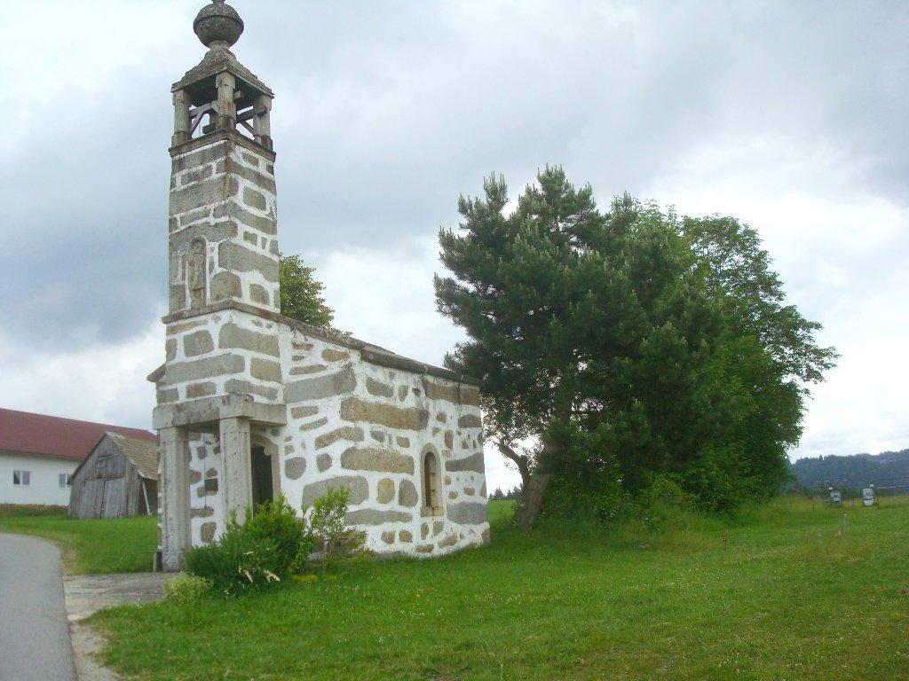 Die Steinkapelle in Wienau - Wienau, Oberösterreich (4272-OOE)