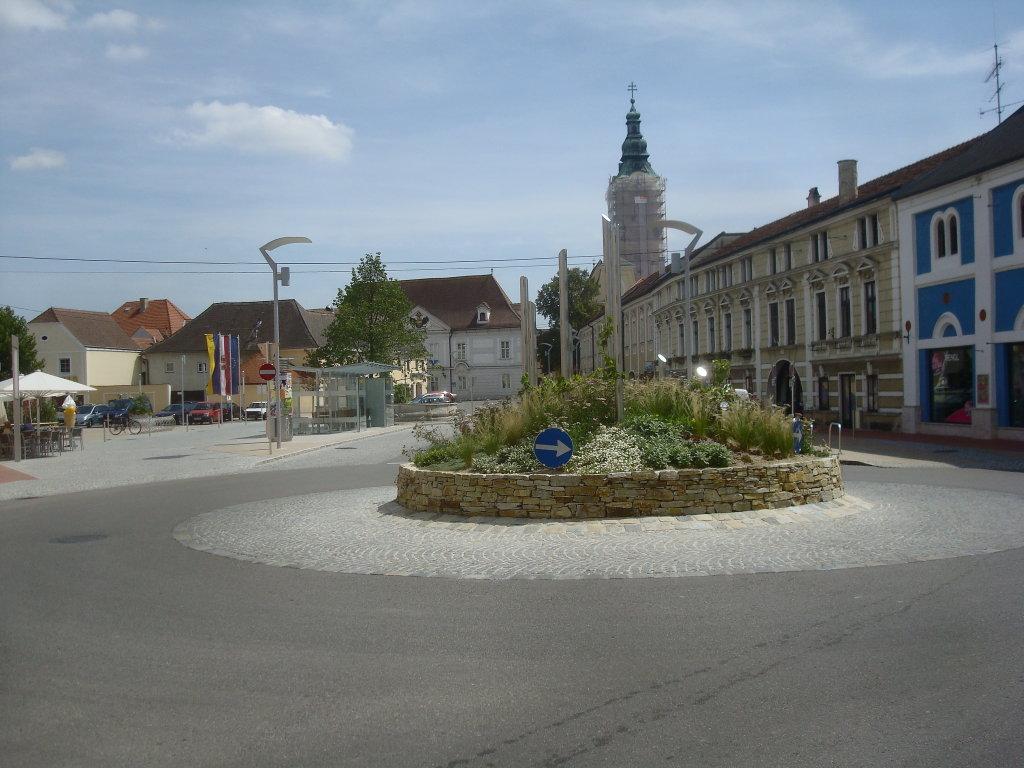 Langenlois - Holzplatz - Langenlois, Niederösterreich (3550-NOE)