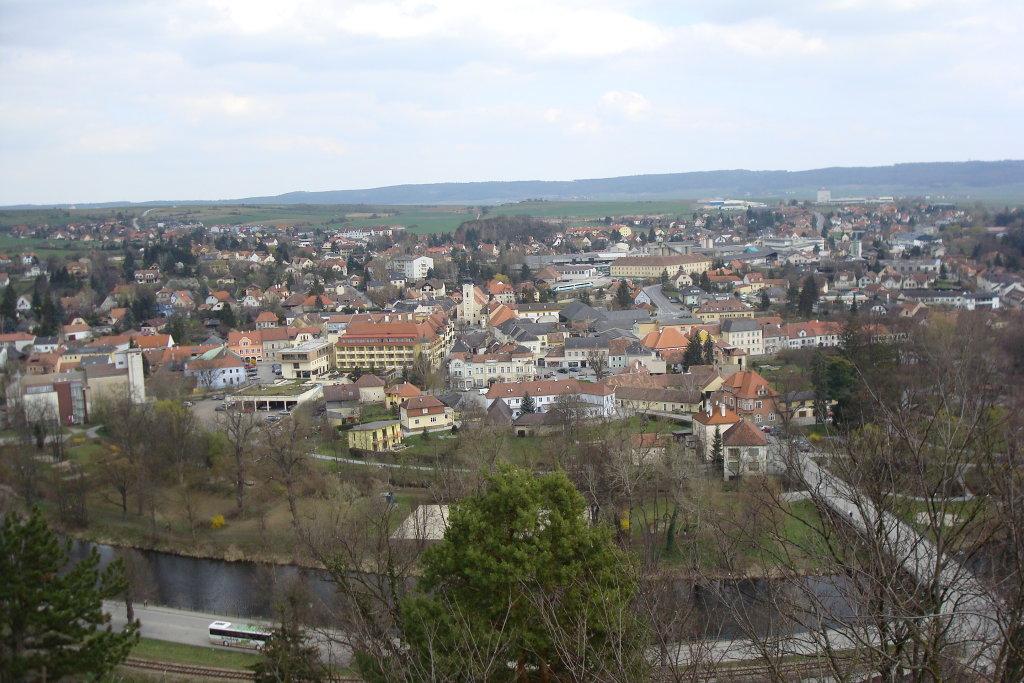 Blick von der Ruine Gars auf Gars am Kamp - Gars am Kamp, Niederösterreich (3571-NOE)