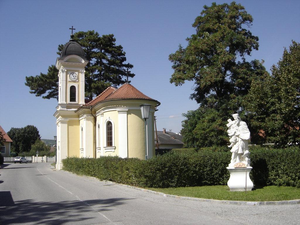 Langenlois - Kapelle Haindorf - Langenlois, Niederösterreich (3550-NOE)