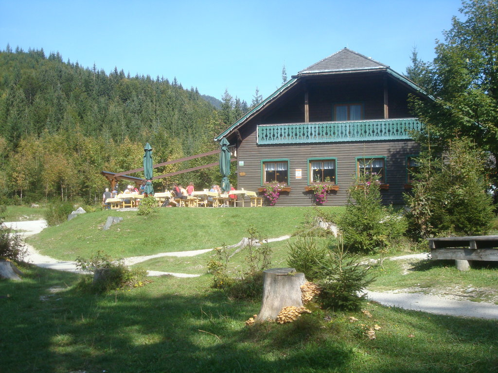Kohlröserlhütte am Ödensee bei Kainisch - Pichl-Kainisch, Steiermark (8983-STM)