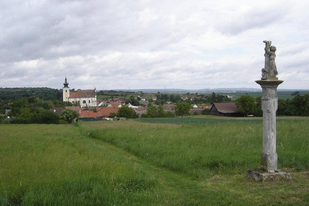 Blick nach Sraning - Straning, Niederösterreich (3722-NOE)