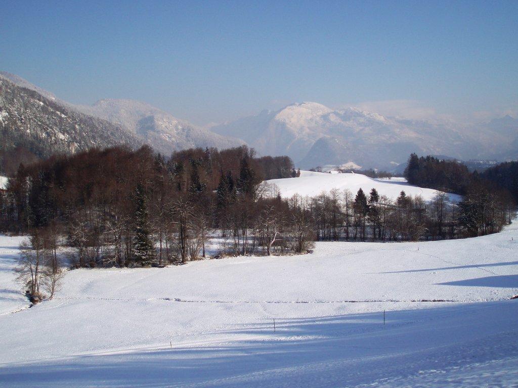 Blick Richtung Bad Ischl - Windhag, Oberösterreich (5351-OOE)
