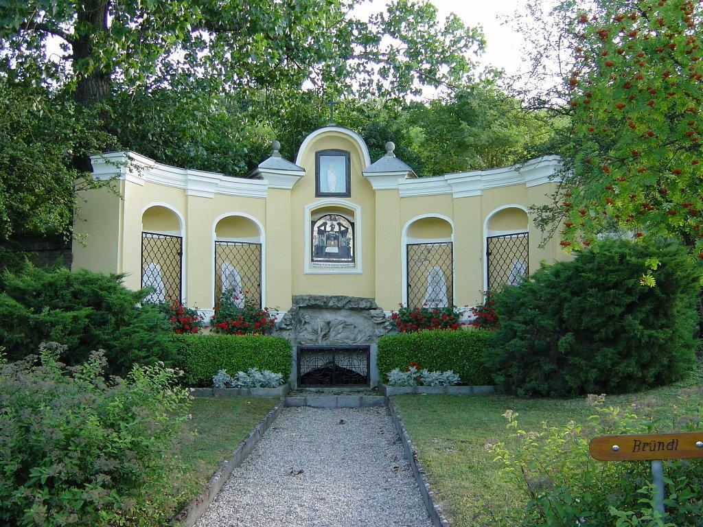 Bründlkapelle in Gobelsburg - Gobelsburg, Niederösterreich (3550-NOE)