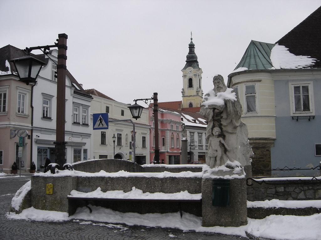 Langenlois - Rathausstraße - Langenlois, Niederösterreich (3550-NOE)