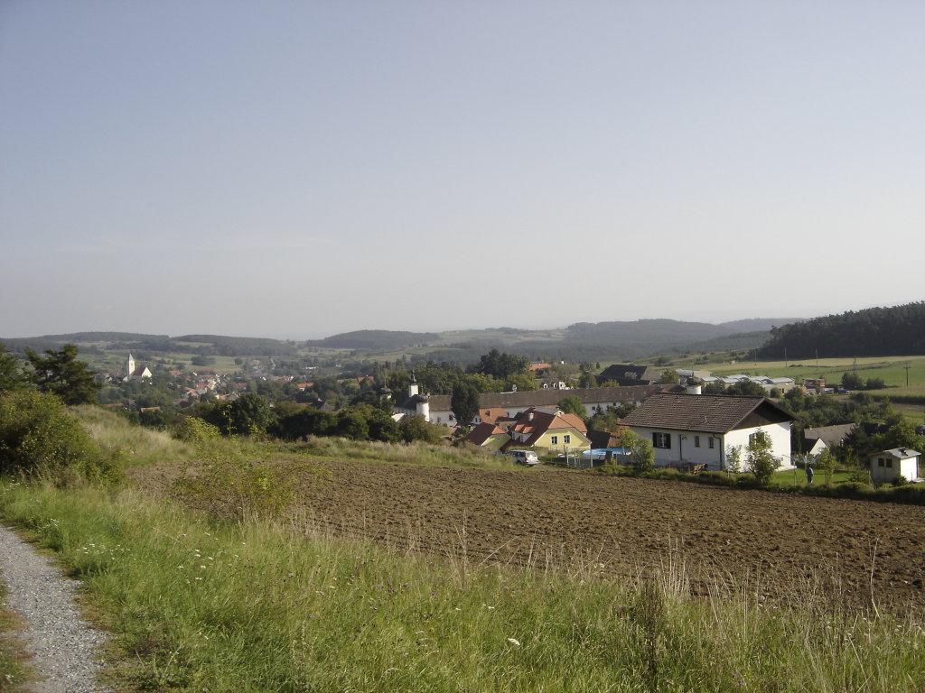 Blick nach Schiltern - Schiltern, Niederösterreich (3553-NOE)