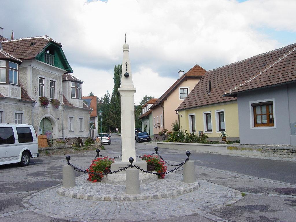 Der Pranger in Zöbing - Zöbing, Niederösterreich (3550-NOE)