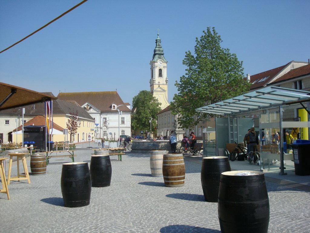 """Langenlois - am """"neuen"""" Holzplatz - Langenlois, Niederösterreich (3550-NOE)"""