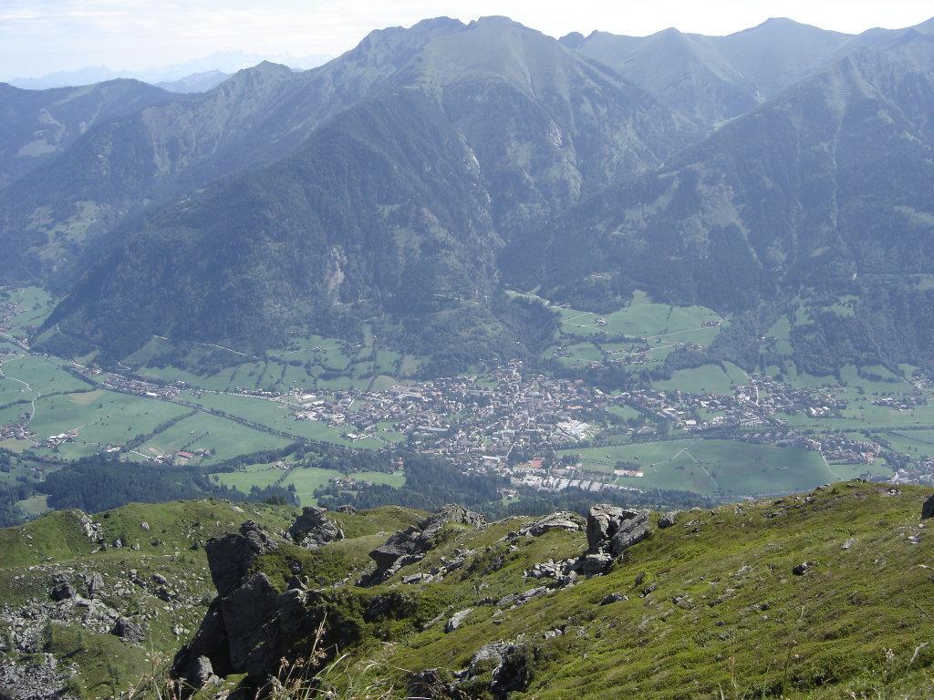 Blick von der Hirschkarspitze auf Bad Hofgastein - Bad Hofgastein, Salzburg (5630-SBG)