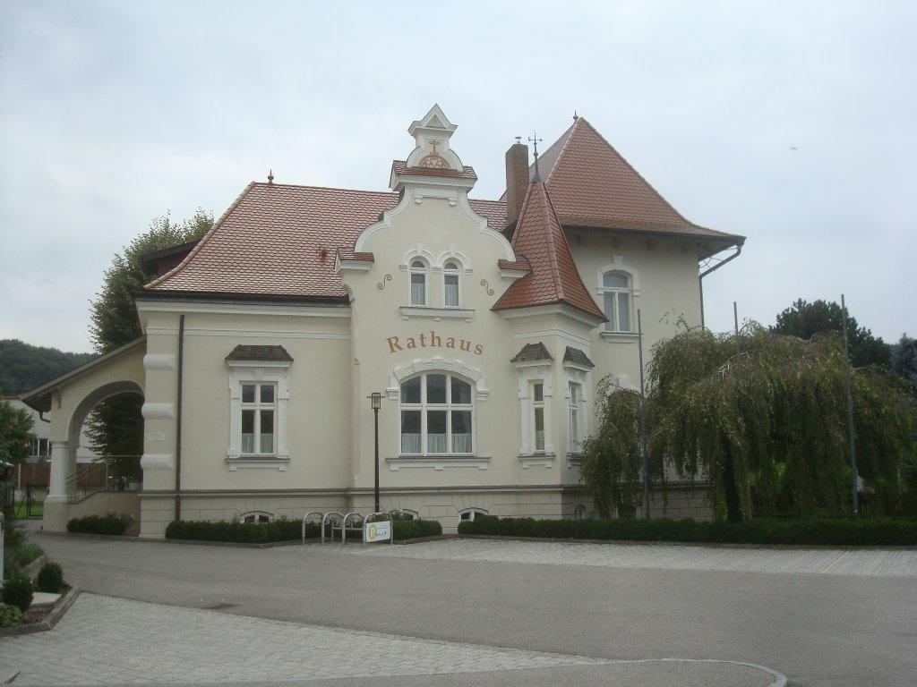 Das Rathaus von Krummnußbaum - Krummnußbaum, Niederösterreich (3375-NOE)