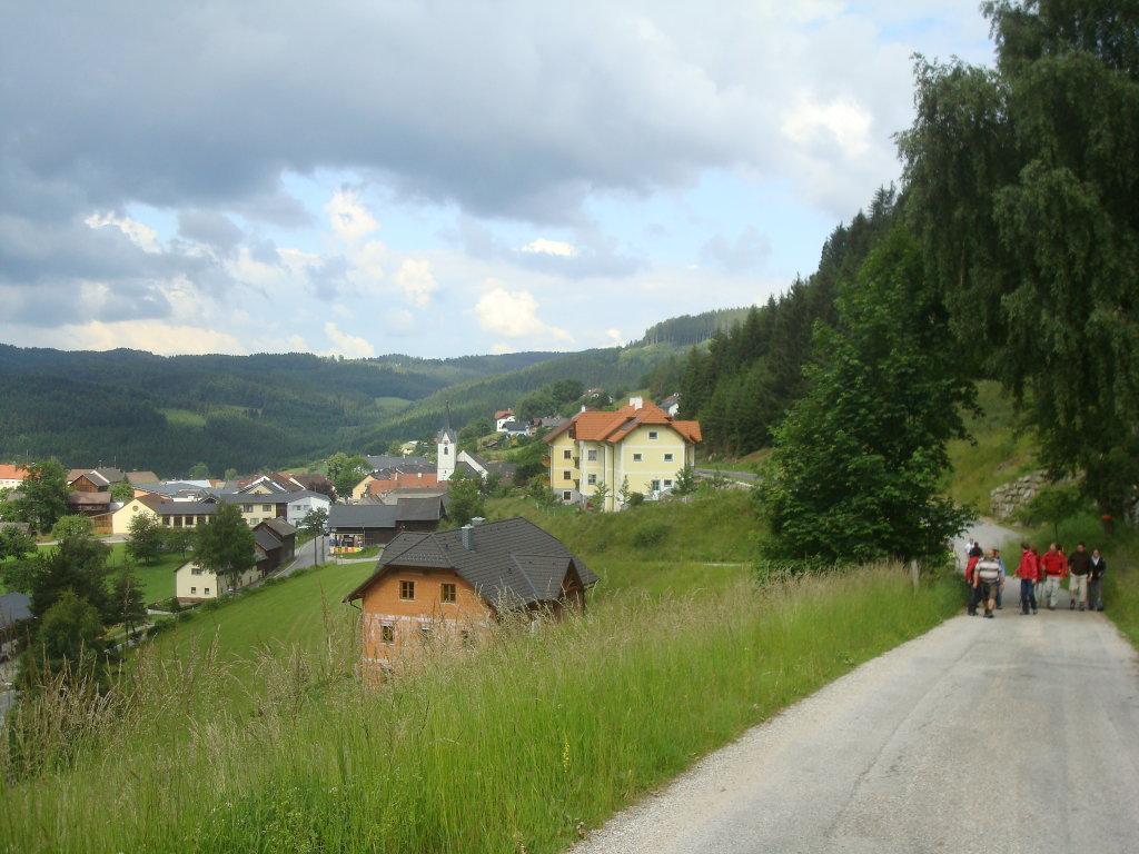 Blick auf Weitersfelden - Weitersfelden, Oberösterreich (4272-OOE)