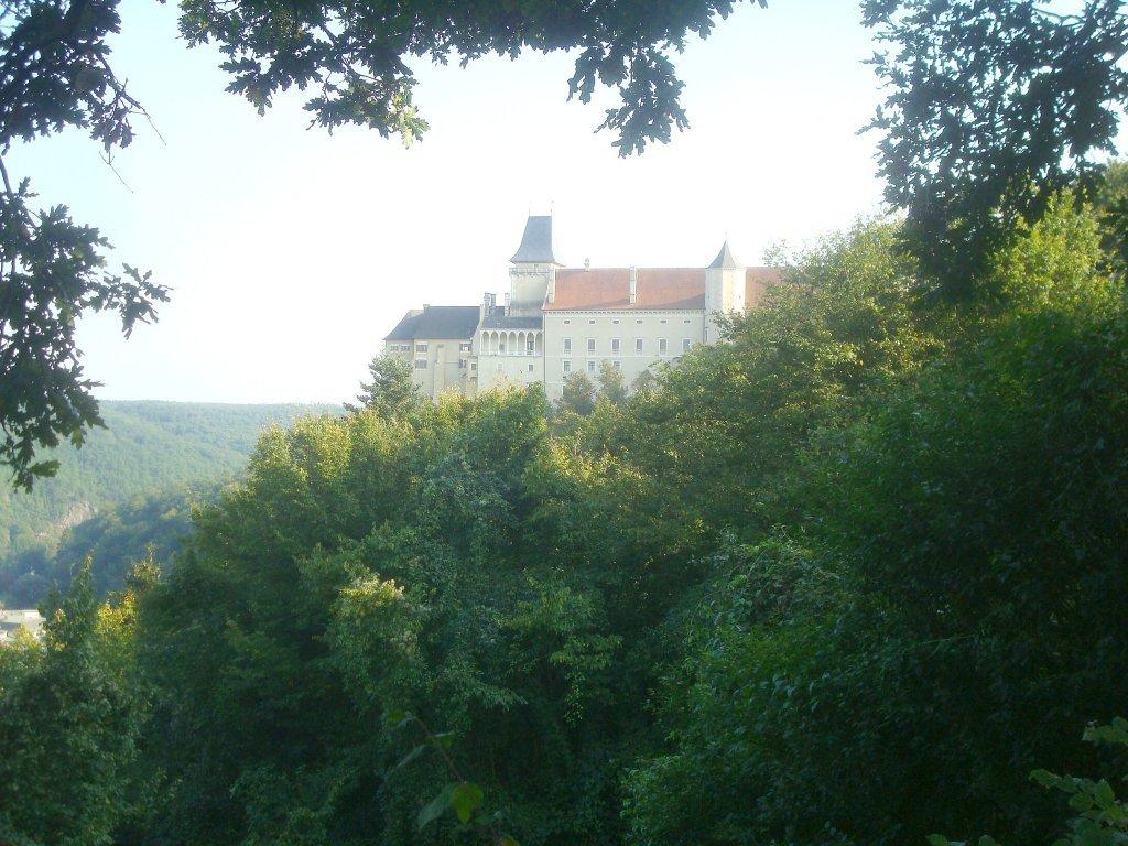 Blick zum Renaissanceschloss Rosenburg - Rosenburg, Niederösterreich (3573-NOE)