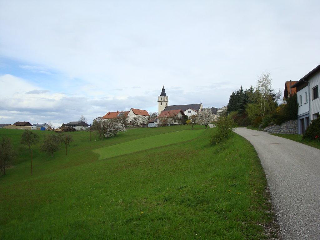 Blick nach Windhag - Windhaag bei Perg, Oberösterreich (4322-OOE)
