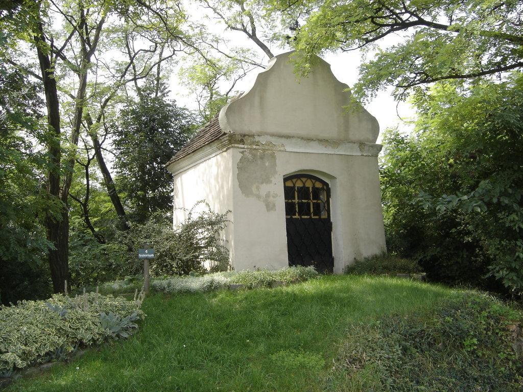 """Die """"Paradeiserkapelle"""" bei Gösing am Wagram. - Gösing am Wagram, Niederösterreich (3482-NOE)"""