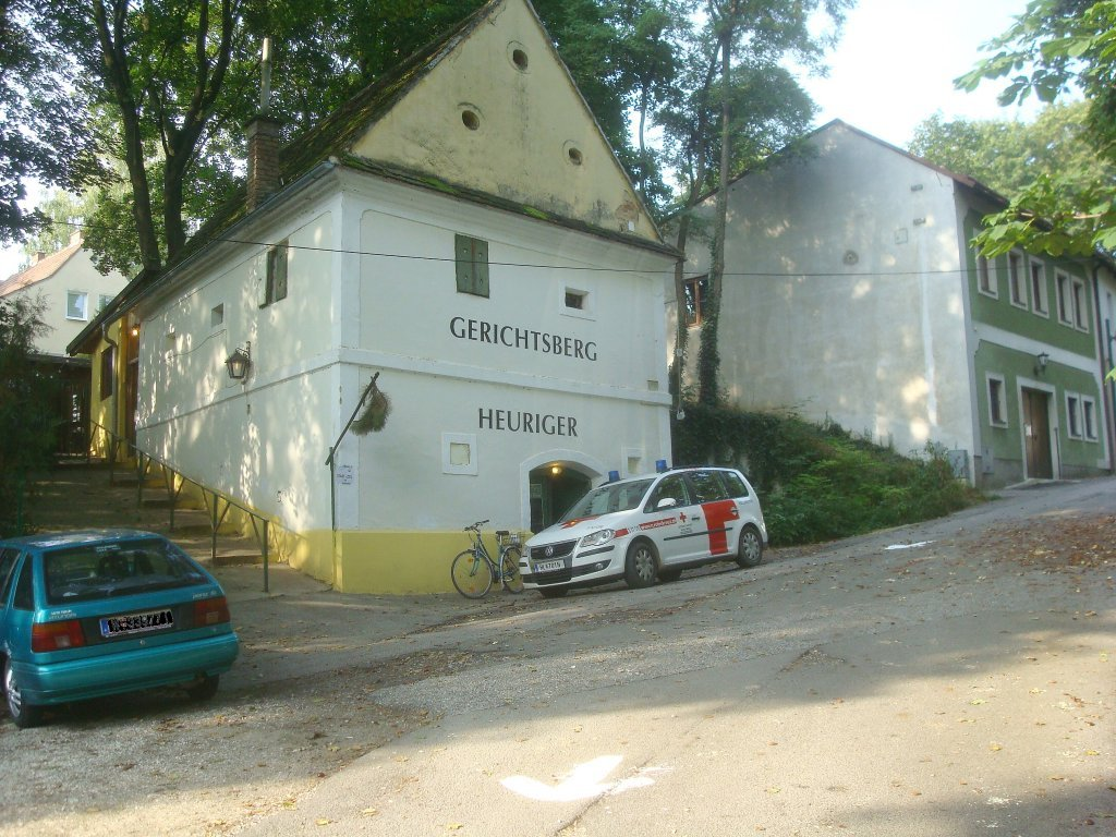 Heuriger am Gerichtsberg - Hollabrunn, Niederösterreich (2020-NOE)