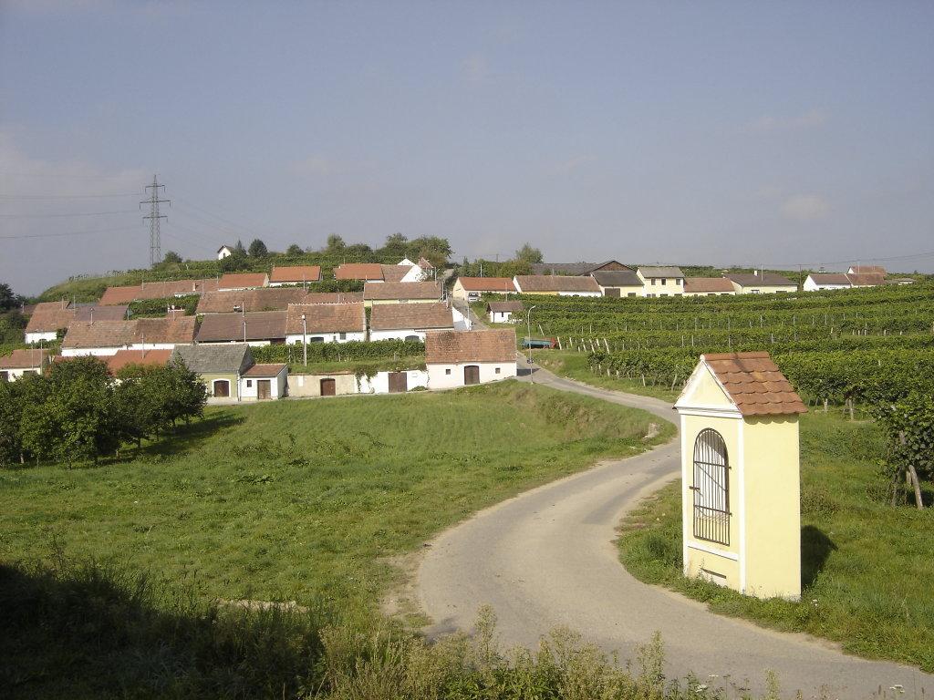 Kellergasse von Mittelberg - Mittelberg, Niederösterreich (3550-NOE)