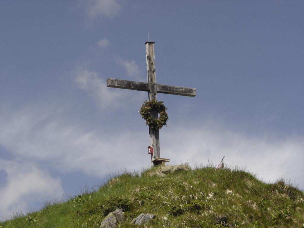 Gipfelkreuz auf der Hirschkarspitze - Bad Hofgastein, Salzburg (5630-SBG)