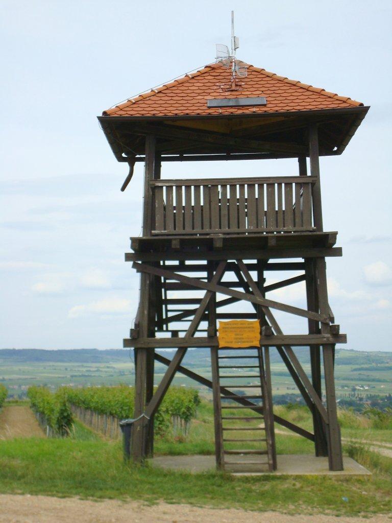 Aussichtswarte auf der Gobelsburger Haide - Gobelsburg, Niederösterreich (3550-NOE)