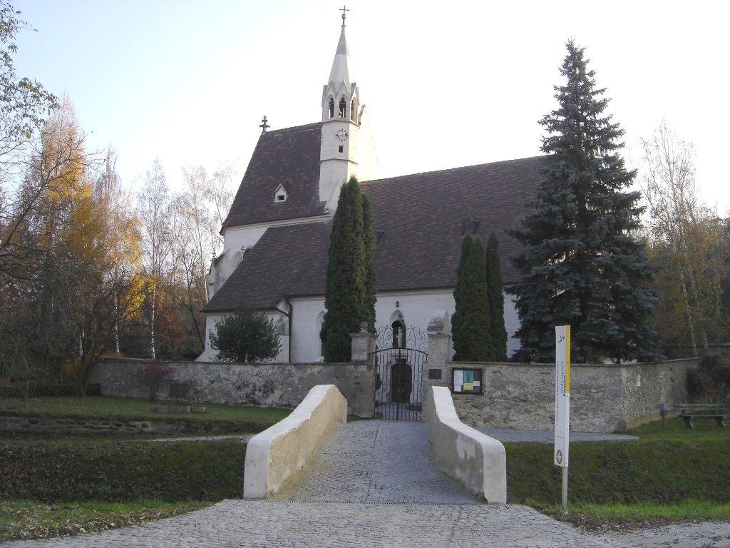 Langenlois - Nikolauskirche (Obere Stadt) - Langenlois, Niederösterreich (3550-NOE)