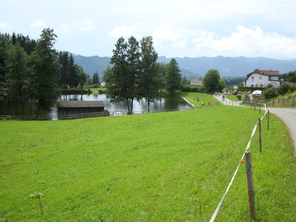 Der Weiermoarteich in Sonnwenddorf - Sonnwenddorf, Steiermark (8732-STM)