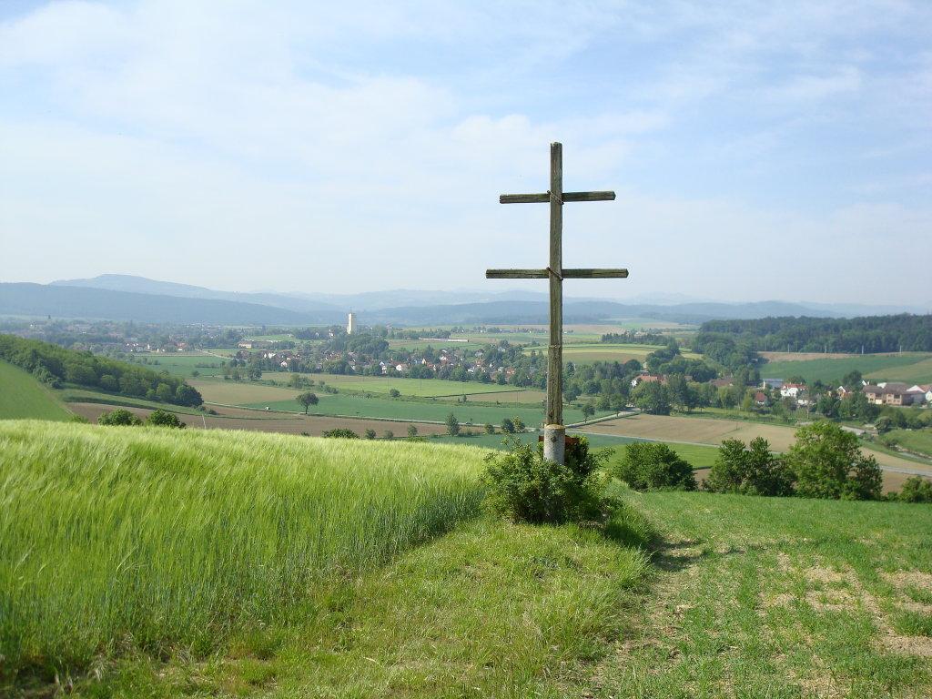 Das Wetterkreuz auf dem Geißberg bei Weisching. - Weisching, Niederösterreich (3071-NOE)