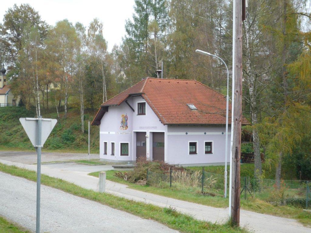 Neues Feuerwehrhaus in Gopprechts - Gopprechts, Niederösterreich (3873-NOE)