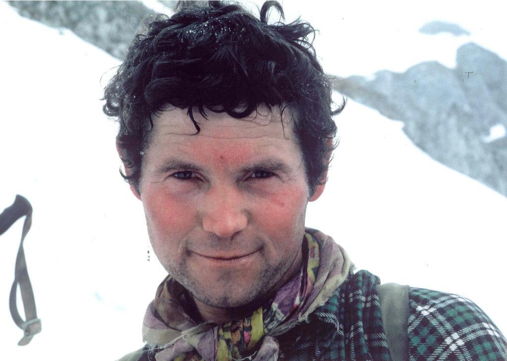 Hilmar Sturm, eine Woche vor seinem tödlichen Bergunfall am 12.4.1982 - Hilmar-Sturm-Weg, Steiermark (8074-STM)