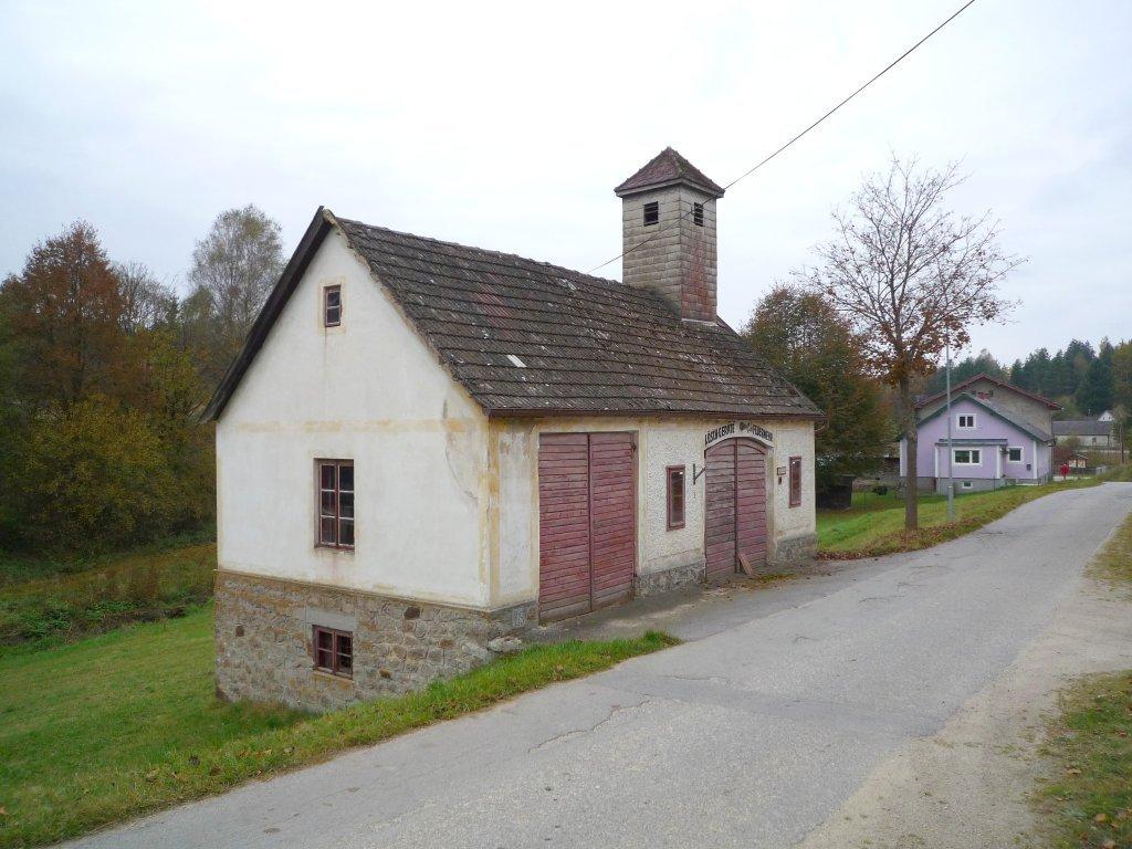Das alte Feuerwehrhaus von Gopprechts - Gopprechts, Niederösterreich (3873-NOE)