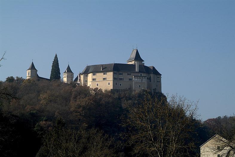 Schloss Rosenburg im Kamptal - Rosenburg, Niederösterreich (3573-NOE)