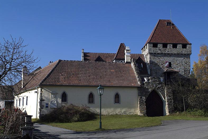 Kleines Schloss von Wolfshof - Wolfshof, Niederösterreich (3571-NOE)