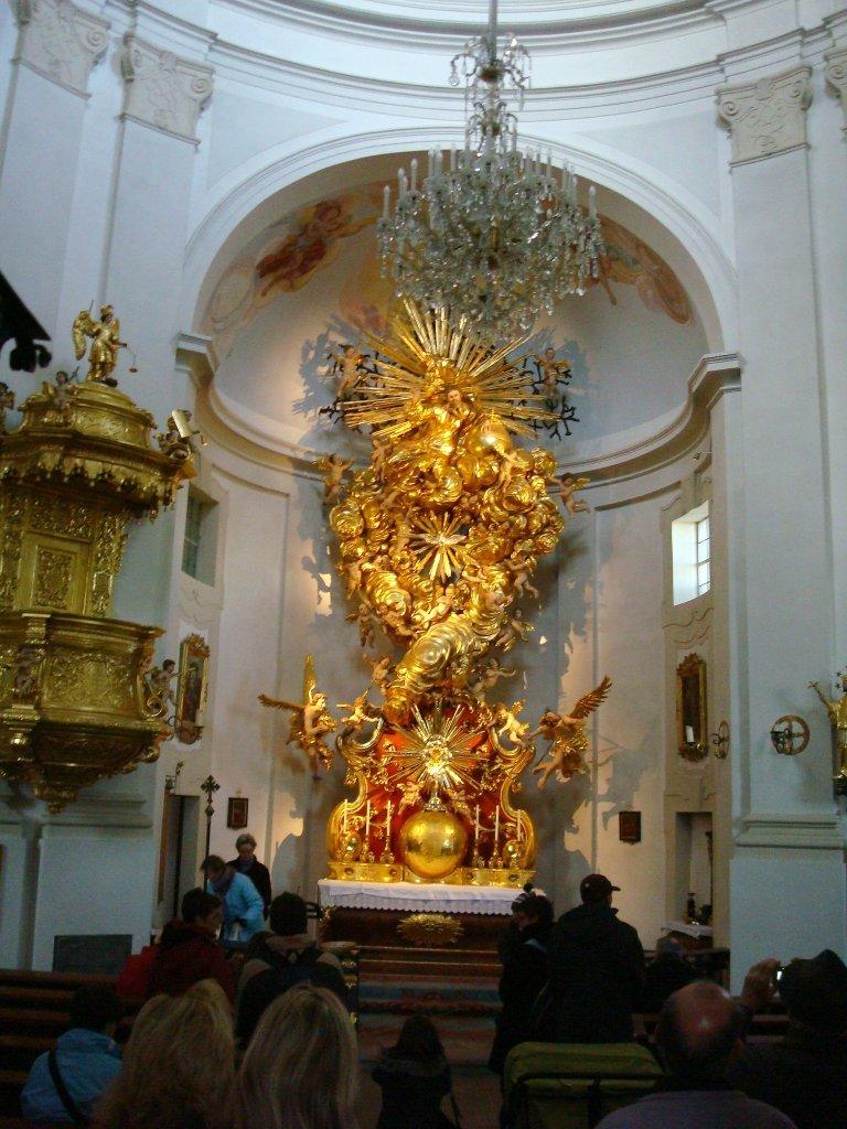 Hochaltar der Wallfahrtskirche Christkindl - Christkindl, Oberösterreich (4400-OOE)