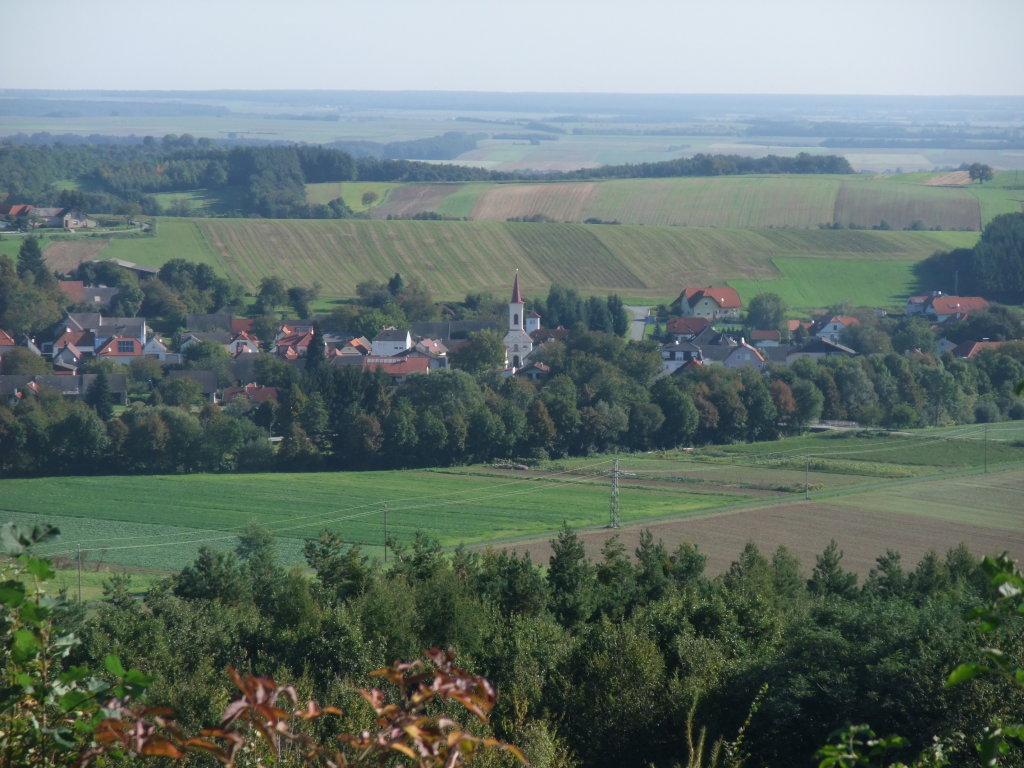 Liebing vom Grenzweg aus gesehen. Herbst 2010 - Liebing, Burgenland (7443-BGL)