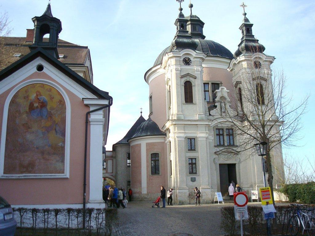 Loreto-Kapelle und Wallfahrtskirche Christkindl - Christkindl, Oberösterreich (4400-OOE)