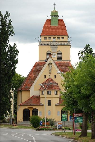 evang. Heilandskirche Fürstenfeld - Fürstenfeld, Steiermark (8280-STM)