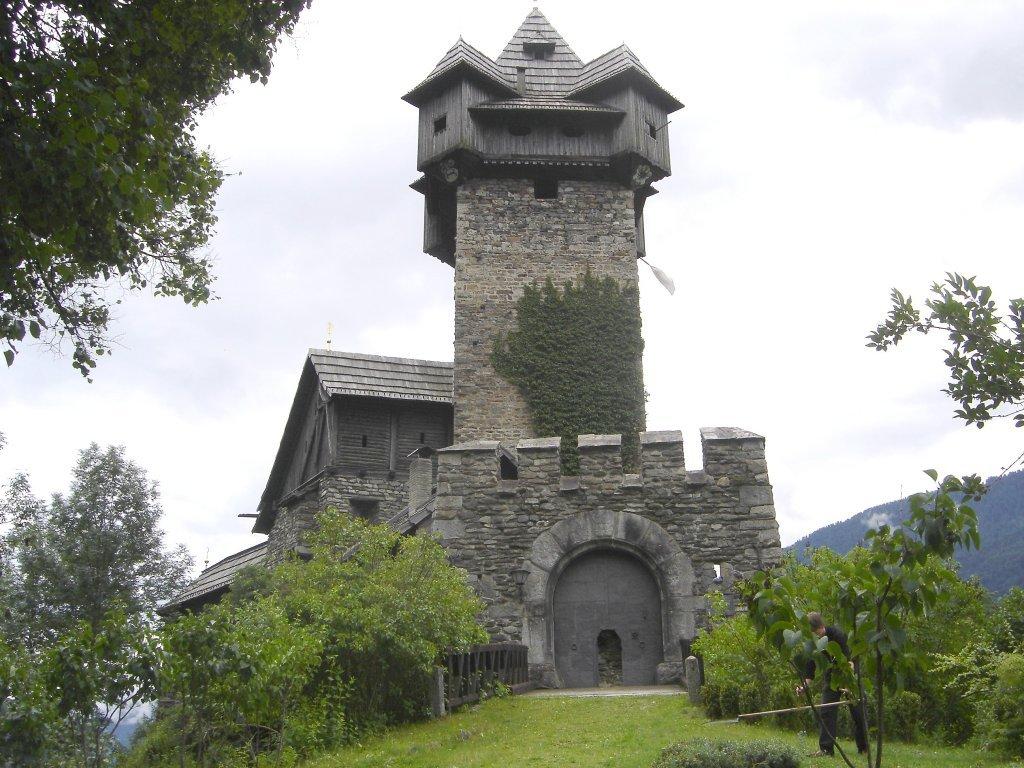 Burg Nieder Falkenberg bei Pfaffenberg - Pfaffenberg, Kärnten (9821-KTN)
