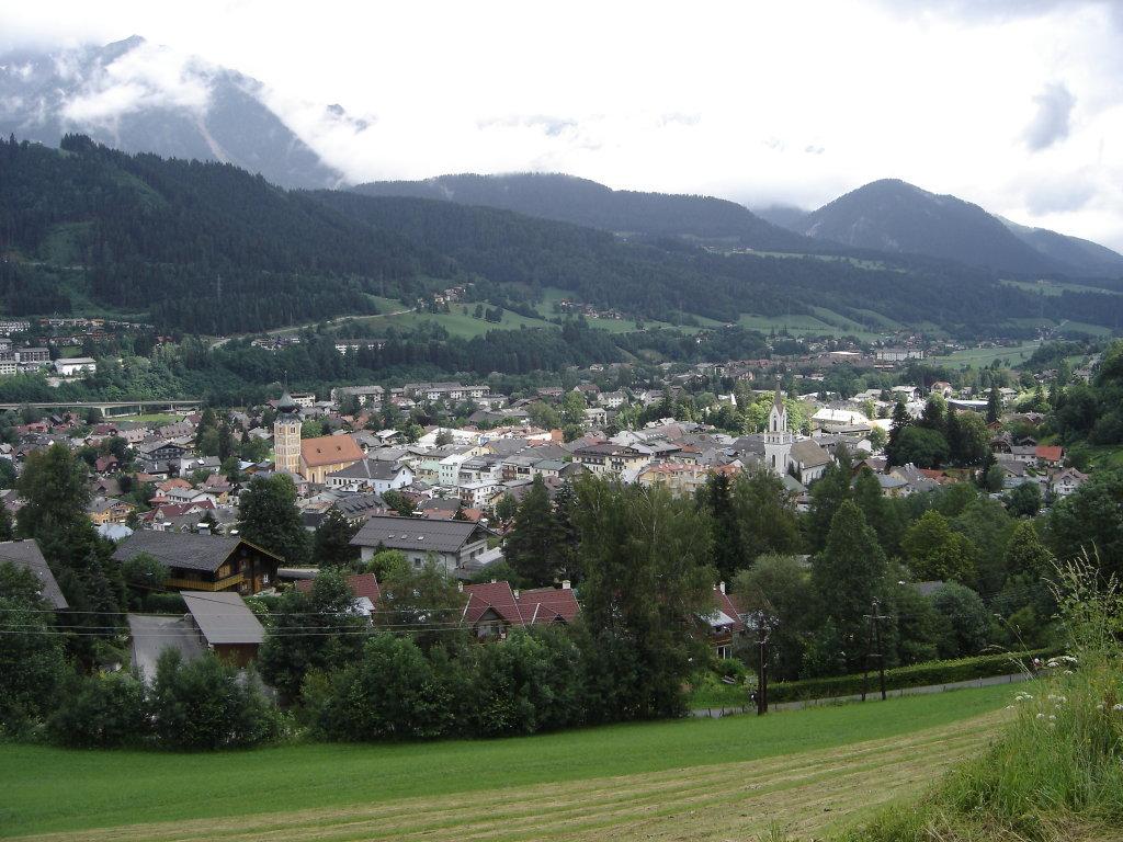 Blick auf Schladming - Schladming, Steiermark (8970-STM)