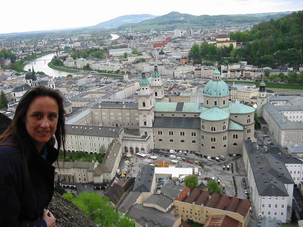 Blick auf Salzburg - Salzburg Stadt (5020-SBG)