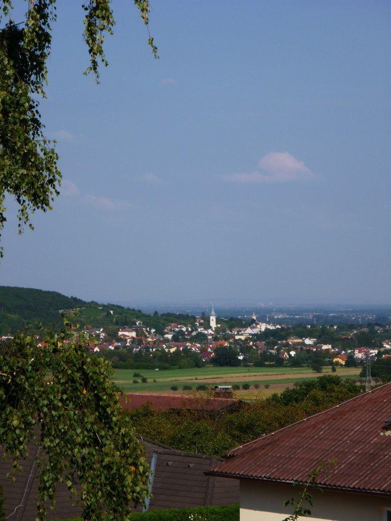 Blick von Großau nach Gainfarn - Großau, Niederösterreich (2540-NOE)