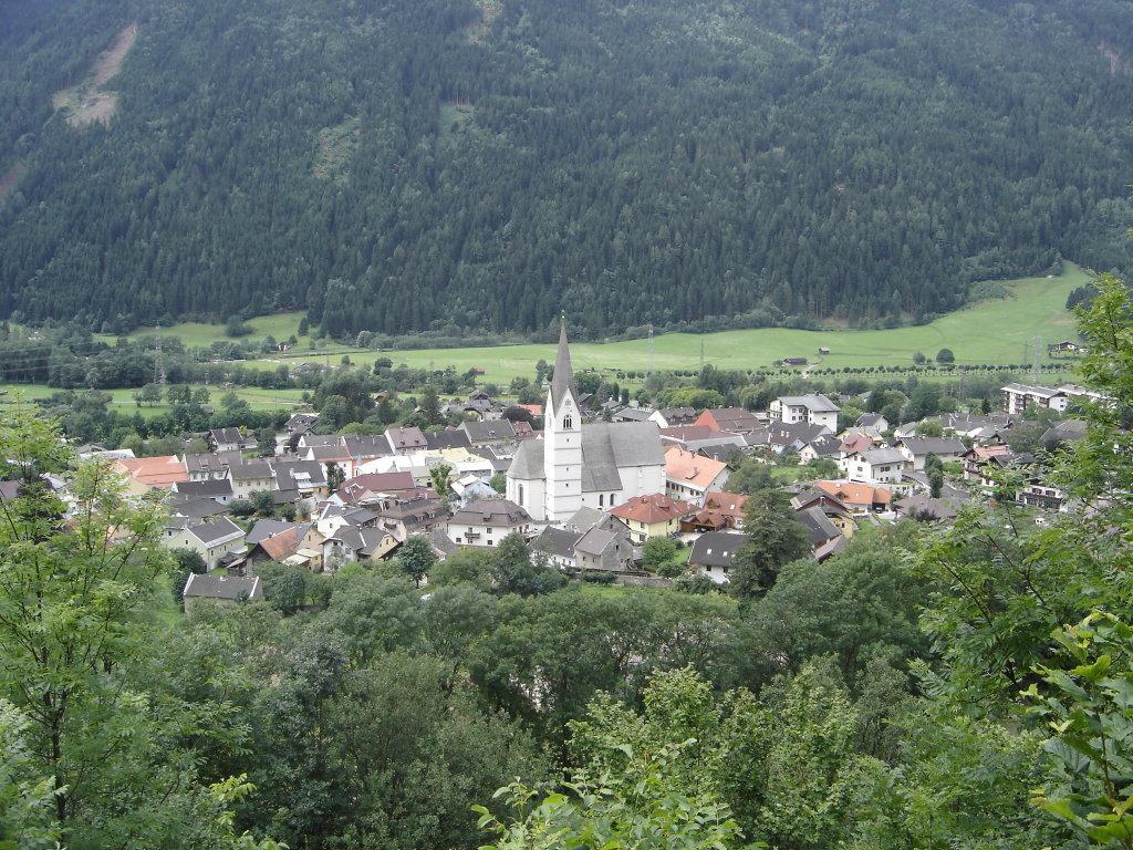 Blick auf Obervellach - Obervellach, Kärnten (9821-KTN)