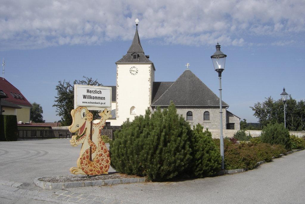 Kirche von Echsenbach - Echsenbach, Niederösterreich (3900-NOE)